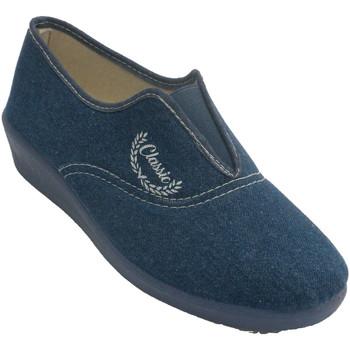 Chaussures Femme Chaussons Aguas Nuevas Espadrilles fermées en caoutchouc pour f azul