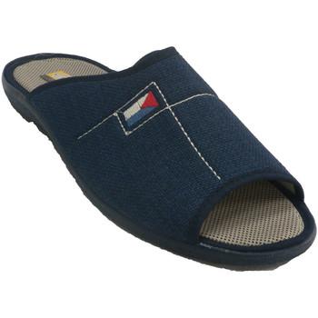 Chaussures Homme Chaussons Aguas Nuevas Pantoufles à talon ouvert homme Aguas nu azul
