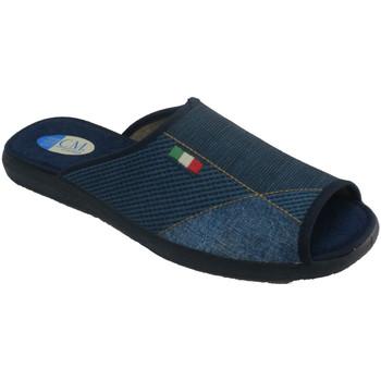 Chaussures Homme Chaussons Calzamur Pantoufles à bout ouvert et talon pour h azul