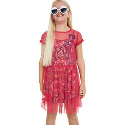 Vêtements Fille Robes Desigual Robe Topeka Fuchsia Rose 19SGVK52 (rft) Rose