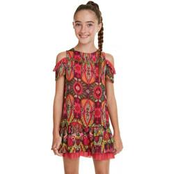 Vêtements Fille Robes Desigual Robe Santafé Vert 19SGVW21 (rft) Vert