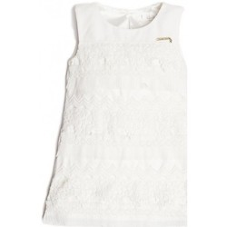 Vêtements Fille Robes Guess Robe fille dentelle K91K07 Blanc (rft) Blanc