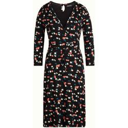 Vêtements Femme Robes King Louie Robe Cecil Dress Cherry Pie Black Noir