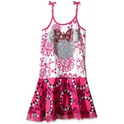 Vêtements Fille Robes Desigual Robe fille Irune Rose 61V3DB2 (rft) Rose