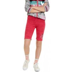 Vêtements Fille Leggings Desigual Legging 19SGKK06 Shortie rose Rose