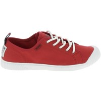Chaussures Femme Baskets basses Palladium Manufacture Easy Lace Rouge Rouge