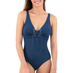 Vêtements Femme Maillots de bain 1 pièce Laura Beach Allure Bleu