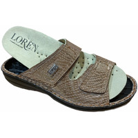 Chaussures Femme Mules Calzaturificio Loren LOM2829scuoio marrone