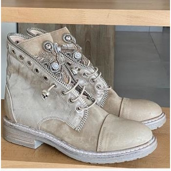 Chaussures Femme Boots Fru.it Boots beige Beige