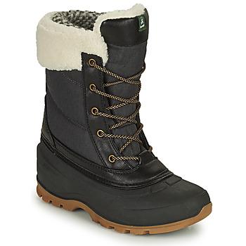 Chaussures Femme Bottes de neige KAMIK SNOWPEARL Noir