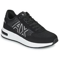 Chaussures Homme Baskets basses Armani Exchange MALIKA Noir / Blanc