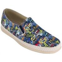 Chaussures Homme Espadrilles Cbp - Conbuenpie  Bleu