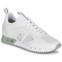 Chaussures Baskets basses Emporio Armani EA7 BLACK&WHITE LACES Blanc