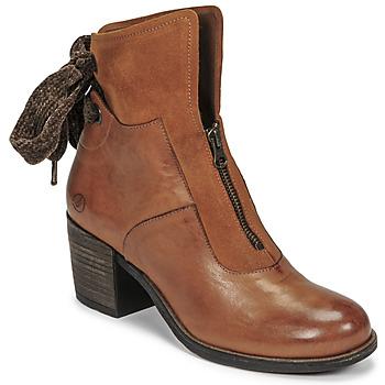 Chaussures Femme Bottines Casta PONTA Cognac