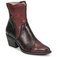 Chaussures Femme Bottines Casta DOST Bordeaux