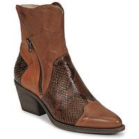 Chaussures Femme Bottines Casta DOST Cognac