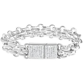 Montres & Bijoux Femme Bracelets Sc Crystal B2567-T16 Argenté