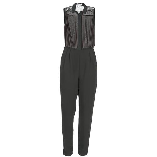 Vêtements Femme Combinaisons / Salopettes BCBGeneration EGLANTINE Noir