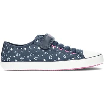 Chaussures Fille Baskets basses Geox SNEAKERS  GISLI J154NE MARINE