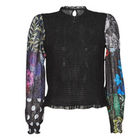 Vêtements Femme Tops / Blouses Desigual HAMBURGO Noir