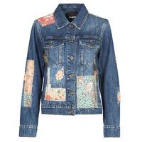 Vêtements Femme Vestes en jean Desigual JAPO PATCH Bleu
