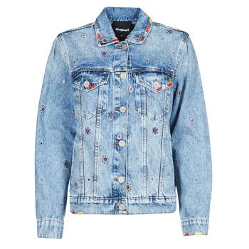 Vêtements Femme Vestes en jean Desigual JULIETA Bleu