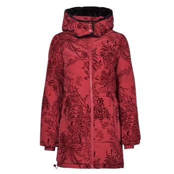 Vêtements Femme Doudounes Desigual JAPAN Rouge