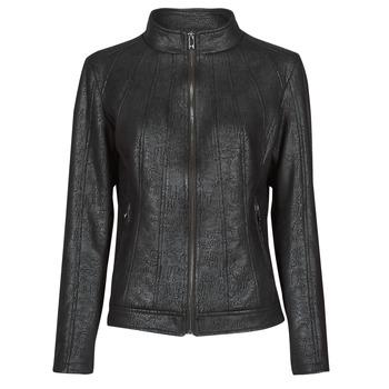 Vêtements Femme Vestes en cuir / synthétiques Desigual COMARUGA Noir