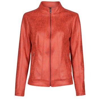 Vêtements Femme Vestes en cuir / synthétiques Desigual COMARUGA Rouge