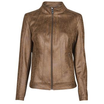 Vêtements Femme Vestes en cuir / synthétiques Desigual COMARUGA Marron