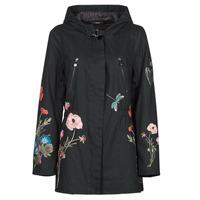 Vêtements Femme Parkas Desigual BELENO Noir