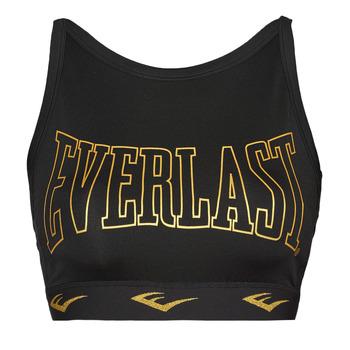 Vêtements Femme Brassières de sport Everlast DURAN Noir / Doré