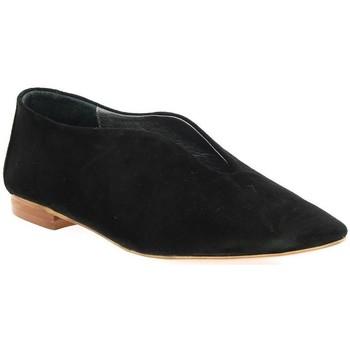 Chaussures Femme Mocassins Sms Mocassins cuir velours Noir