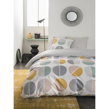 Maison & Déco Parures de lit Today Parure de housse de couette 260x240 coton HARI Gris