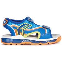 Chaussures Garçon Sandales et Nu-pieds Geox sandale j s android b.b bleu