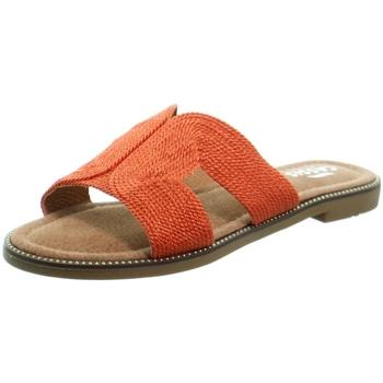 Chaussures Femme Mules Cassis Côte d'Azur Sandales  Stone ref 52401 Orange Orange