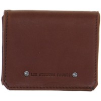 Sacs Homme Porte-monnaie Baroudeur Porte-monnaie en cuir  ref 45298 Cognac 10*8*3 Marron