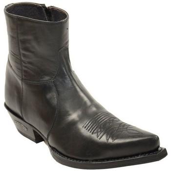 Chaussures Homme Boots Sendra boots santiags lowboots homme ref_sen34036-noir Noir