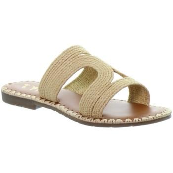 Chaussures Femme Mules L'atelier Tropezien Sandales Atelier Tropézien ref 52069 nature Beige