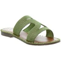 Chaussures Femme Mules L'atelier Tropezien Sandales Atelier Tropézien ref 52069 vert Vert