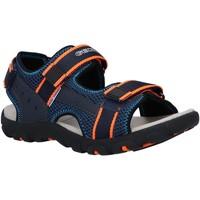Chaussures Garçon Sandales et Nu-pieds Geox J1524A 014CE J STRADA Azul
