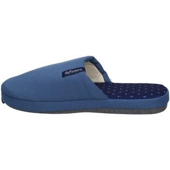 Chaussures Homme Chaussons De Fonseca ROMA TOP E M711 BLEU ET BLEU CLAIR