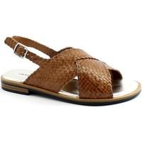 Chaussures Femme pour éviter à tout prix la chaleur Frau FRA-E21-8677-CU Marrone