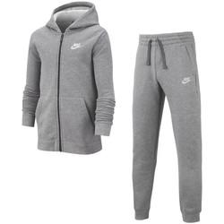 Vêtements Garçon Ensembles de survêtement Nike Core Gris