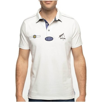 Vêtements Homme Polos manches courtes Shilton Polo rugby manches courtes SOUTH Blanc