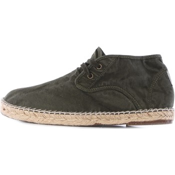 Chaussures Homme Espadrilles Natural World OLD NECTAR chaussures à lacets homme Vert Vert