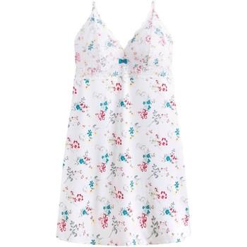 Vêtements Femme Pyjamas / Chemises de nuit Pommpoire Nuisette blanc Zazie Blanc