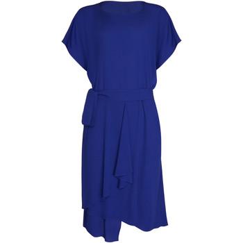 Vêtements Femme Robes Lisca Robe estivale manches courtes Nice Bleu