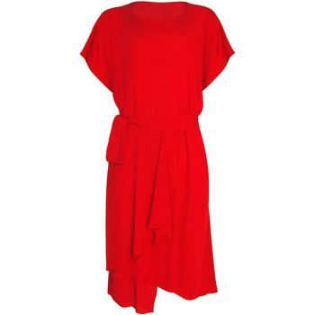 Vêtements Femme Robes Lisca Robe estivale manches courtes Nice Rouge