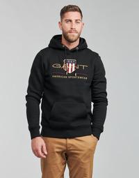 Vêtements Homme Sweats Gant ARCHIVE SHIELD HOODIE Noir